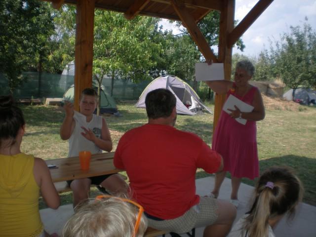 Nyári tábor Kistárkányban - 2014
